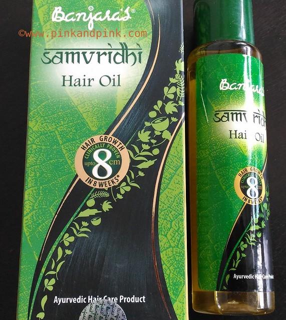 Banjaras Samvridhi hair oil review 1