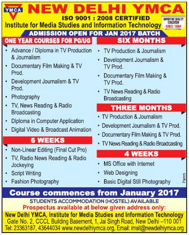 Institute of Media Studies and Information Technology Notice