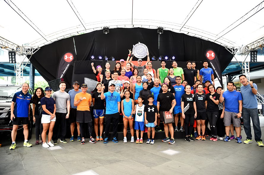 Under Armour is among the key partners of ActiveHealth and Run United Exceed