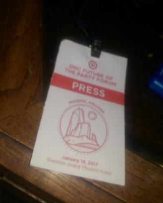 dnc press pass