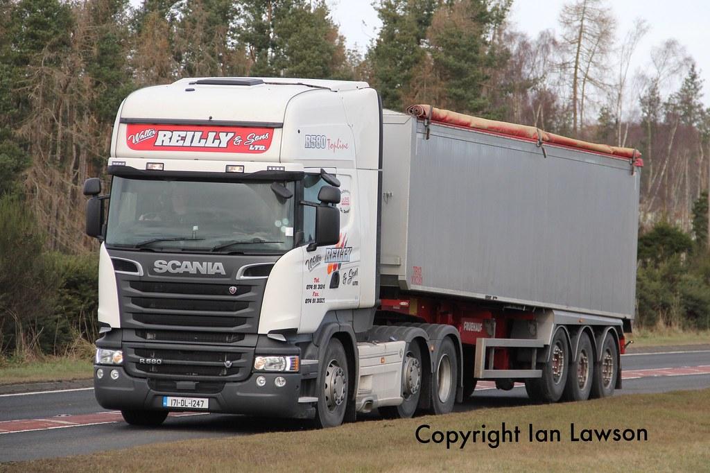 Walter Ltd 171 dl 1247 walter reilly sons ltd scania r580 streamlin flickr