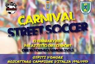 Noicattaro. Carnival Street Soccer front