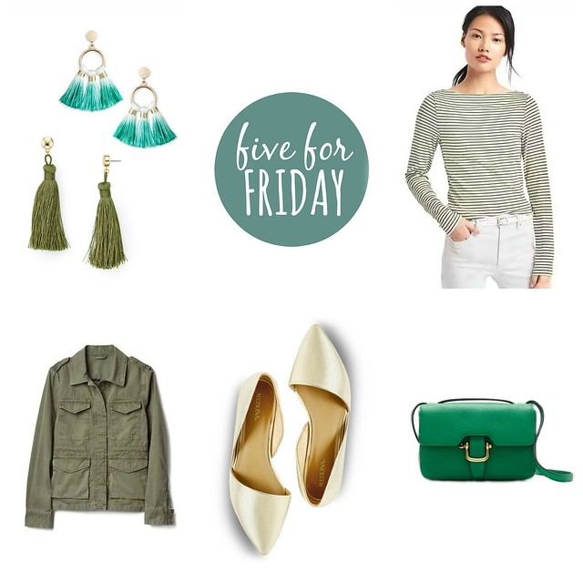 five for friday Luck of the Irish | Style On Target blog