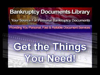 Bankruptcy Documents Library | by PaulJames189
