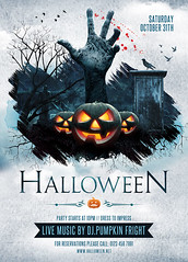 halloween and trick or treat flyer template you can downlo flickr