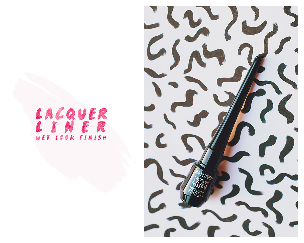 Seventeen Lacquer Liner Wet Look Review