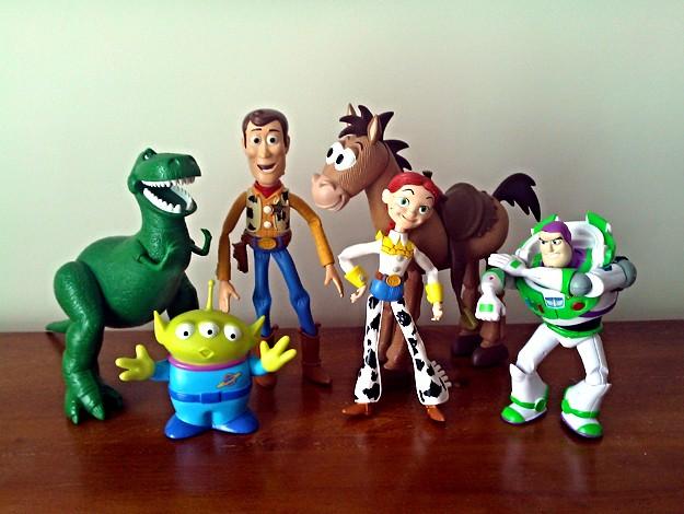 Toy Story Figurines : Toy story mini figurines futurama guy flickr