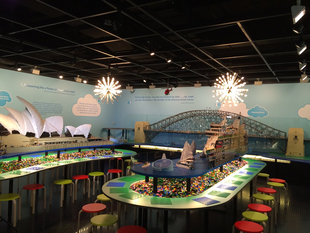 Sydney Harbour Icons With Lego Bricks Our Latest