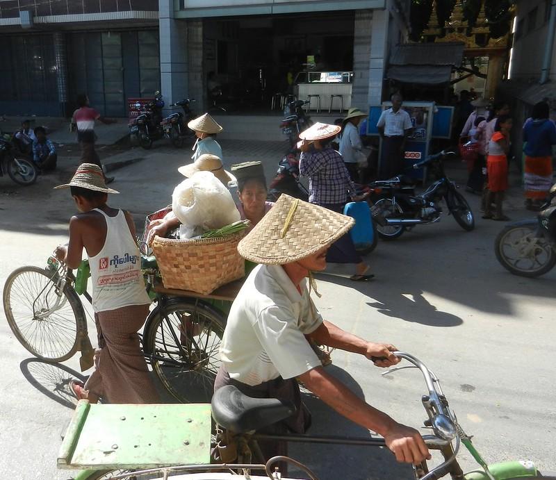 Крестьяне Мьянмы