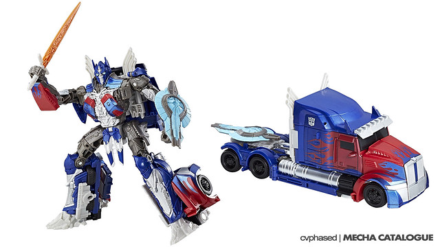 TRANSFORMERS The Last Knight - Voyager Class OPTIMUS PRIME