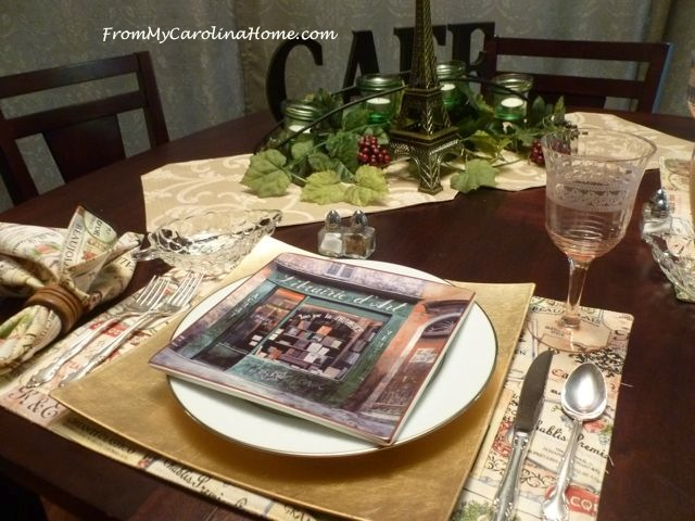 Romantic Dinner for Two ~ From My Carolina Home