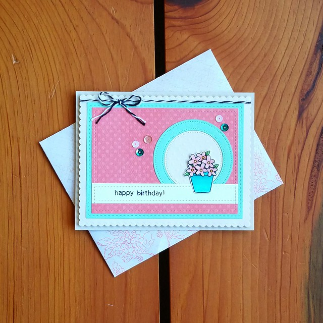 Birthday Snail Mail | shirley shirley bo birley Blog | birthday card, handmade card, cardmaking, paper crafting, snail mail