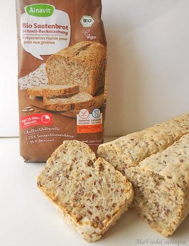 pain aux céréales sans gluten sans lactose