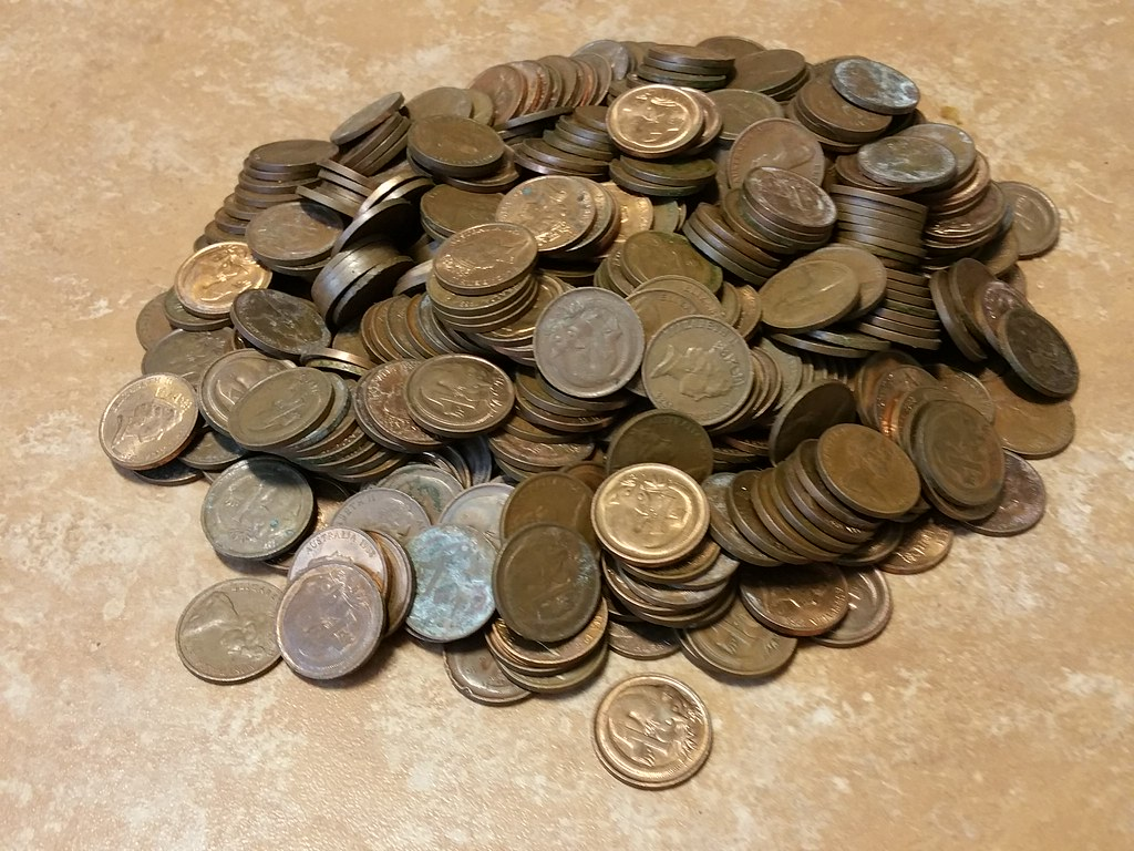 Australian 1cent And 2 Cent Coins Discontinued Out Of Circulation