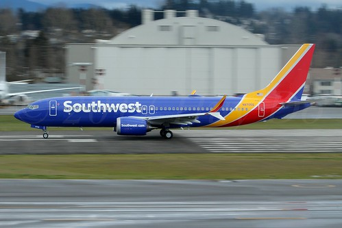 Boeing 737 MAX 8 Southwest Airlines N8705Q