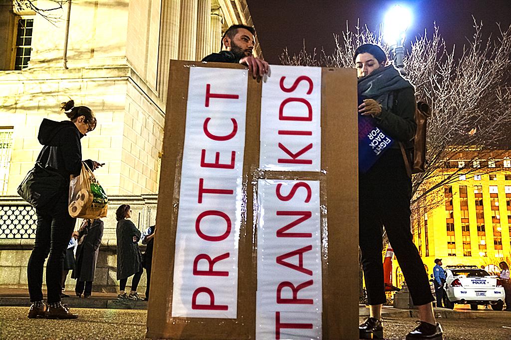 PROTECT TRANS KIDS--Washington