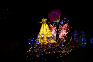 Belle in the Paint the Night Parade | by Disney, Indiana