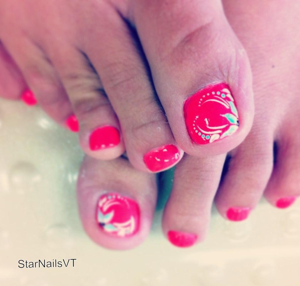 Spring Toe Nail Designs Via Nail Designs Blog Ift1pz7m Flickr