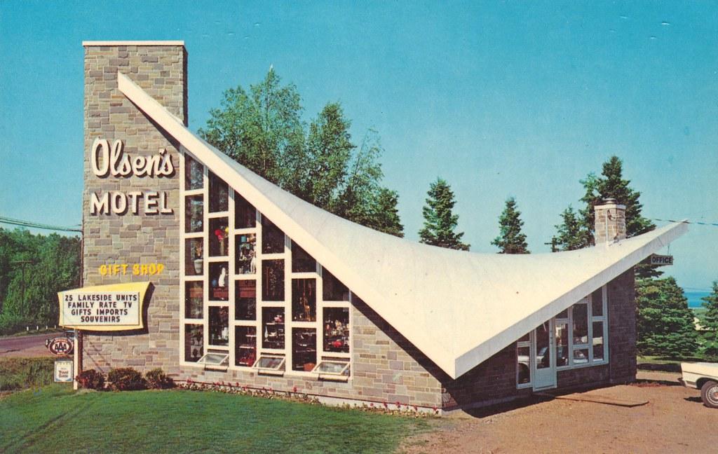 Olsen's Motel & Gift Shop - Tofte, Minnesota