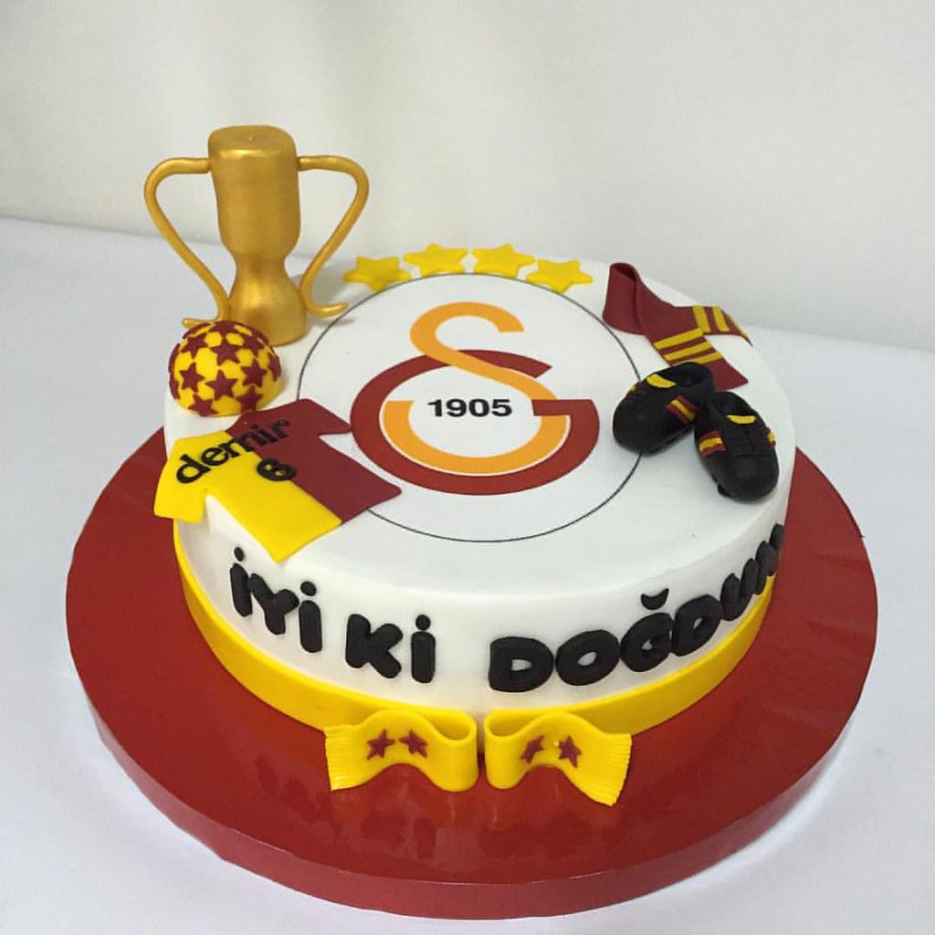 İyi Ki Doğdun Demir Fanatik Gs Galatasaray Cake 246 Zel