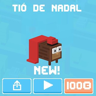 Tió de Nadal en Crossy Road | by Lady Madonna