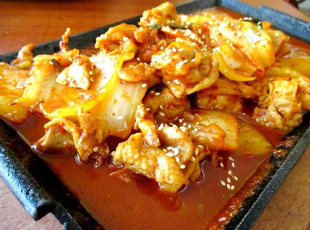 Loco Kitchen kimchi chicken