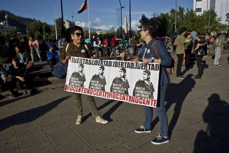 Libertad para la Machi Francisca Linconao
