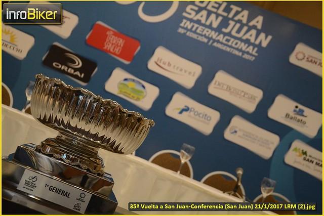 35° Vuelta a San Juan-Conferencia de Prensa