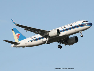 China Southern Airlines. First Airbus A320 NEO For The Company.