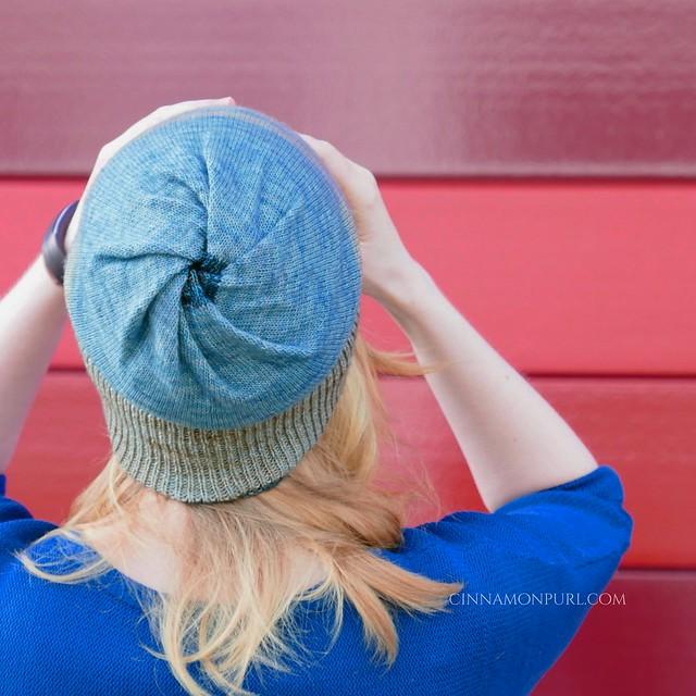 blue cyclone hat