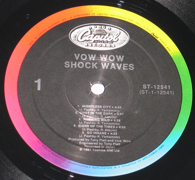 Vow Wow Bow Wow - Shock Waves