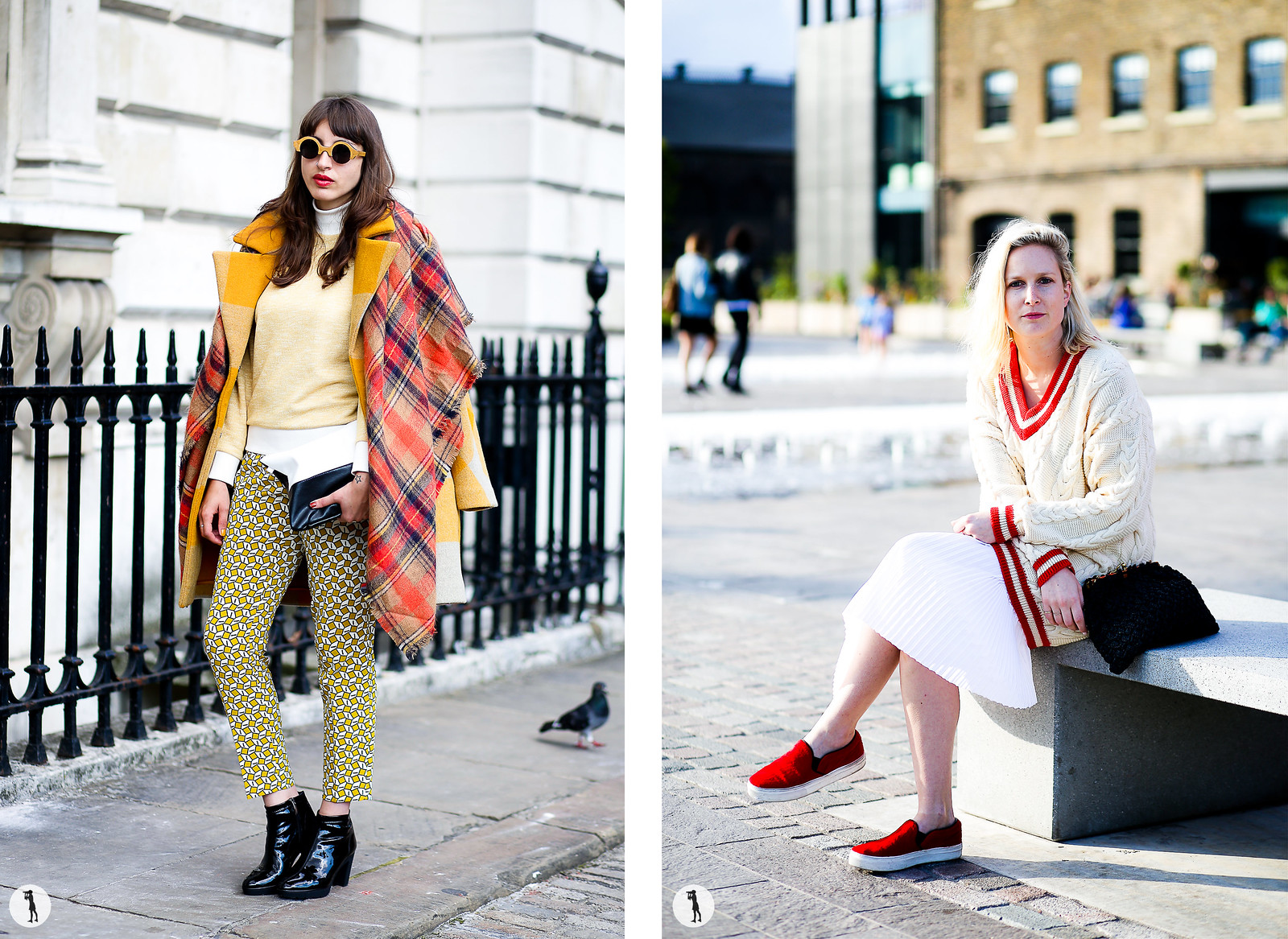 Street style - London Fashion Week SS15