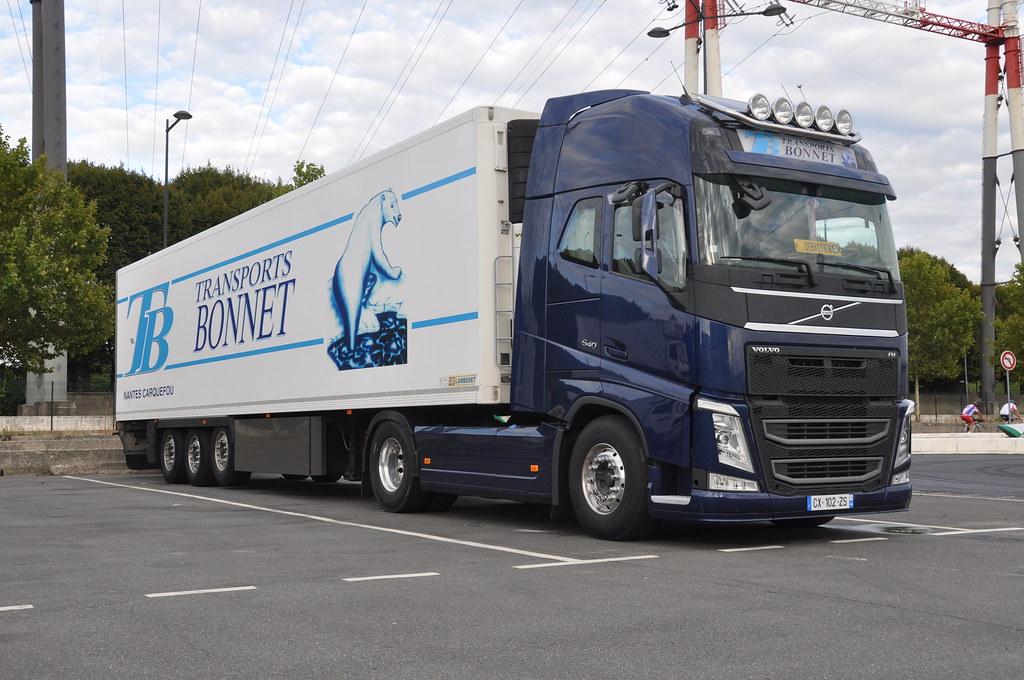 Volvo FH4 540 Globetrotter Transports Bonnet (France) CX
