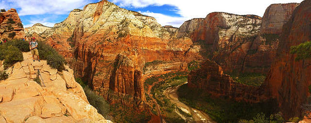 Angels Landing, Zion National Park, Utah, USA