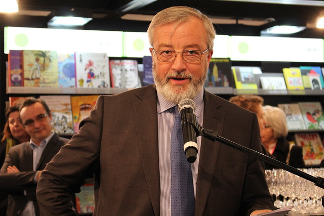 Vincent Montagne (SNE) - Frankfurt Buchmesse 2015