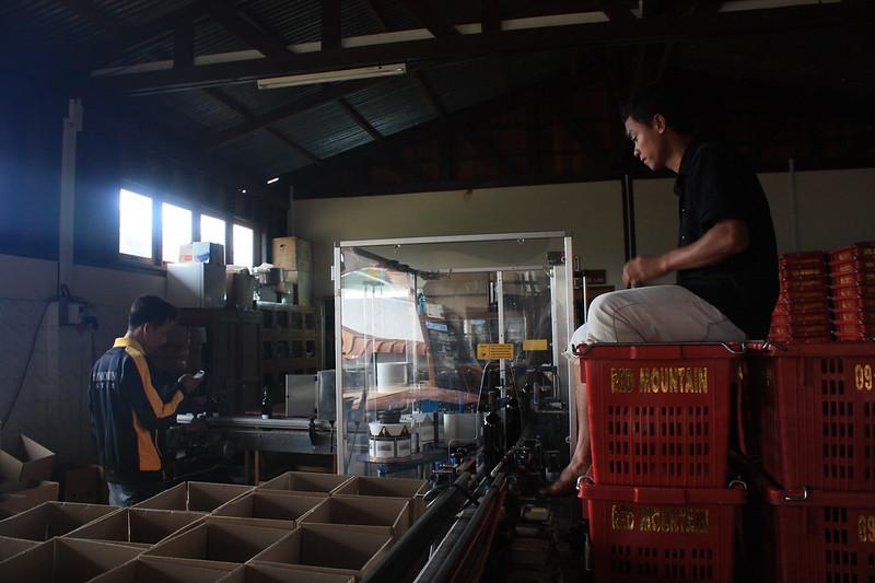 Производство вина в Red Mountain Estate (Инле)