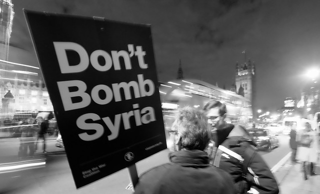 British parliament - David Cameron - Don't bomb Syria.