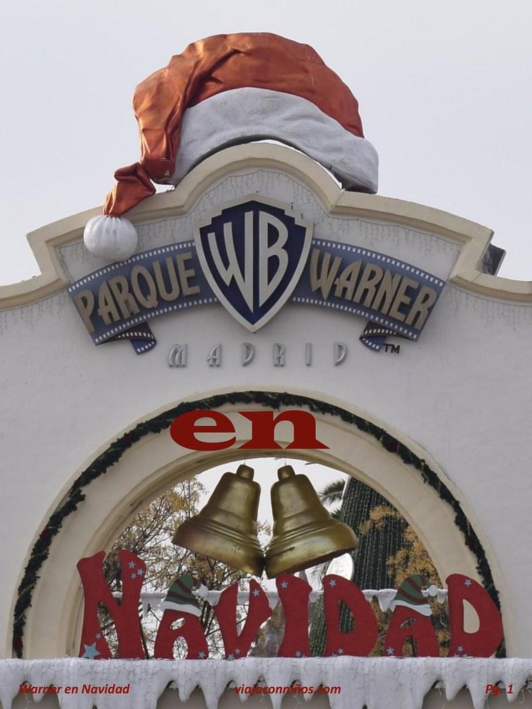Parque Warner en Navidad 2015