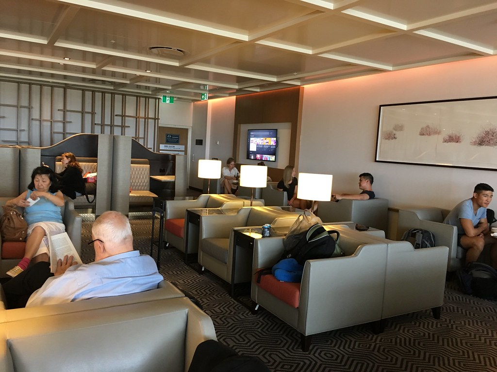 Singapore Airlines SilverKris Business Class Lounge Sydney