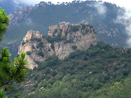 Reconnaissance du sentier de Punta Piscia : la pointe
