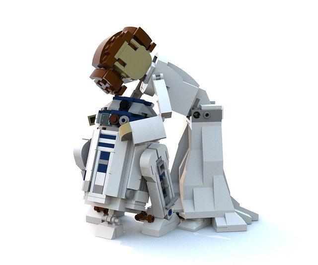 Build your own Leia & R2-D2