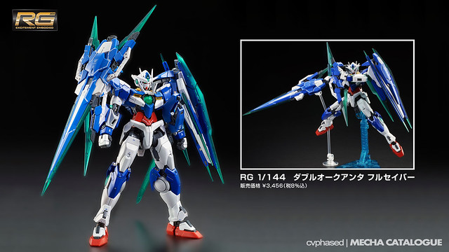 Bandai Hobby Online Shop Exclusive - RG 00 Qan[T] Full Saber
