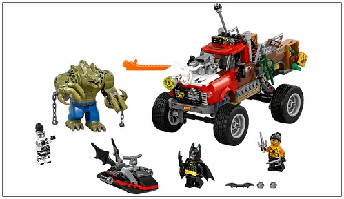 The LEGO Batman Movie 70907 Killer Croc Tail-Gator 00