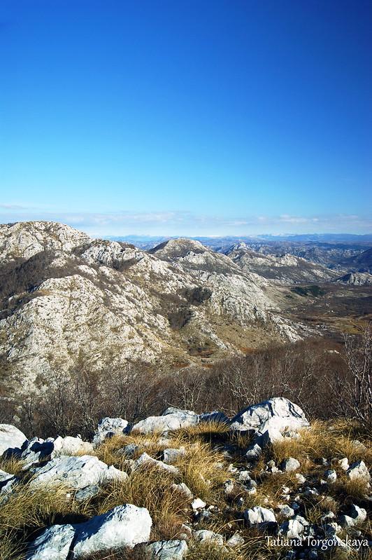Горный пейзаж с вершины РТ