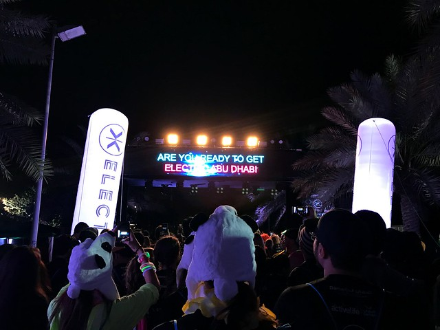 Electric Run Abu Dhabi 2017
