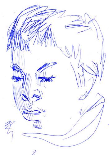 Sketchbook #102: Reading Time