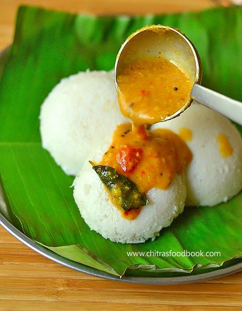 Annapoorna hotel style idli sambar recipe