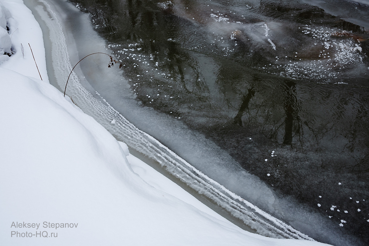 River at winter