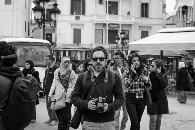 Manuel Caballero in Tunis