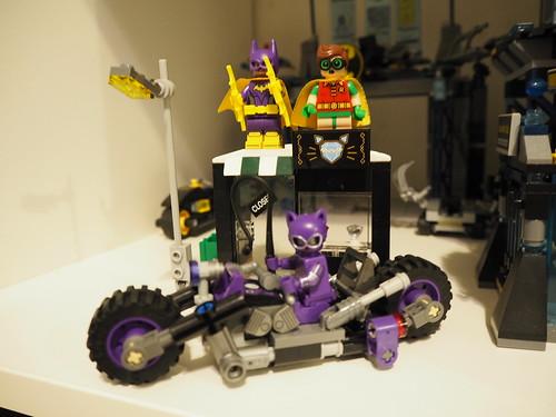 LEGO Batman Movie sets - Joker's Notorious Lowrider, Catwoman's Catcycle Chase & Joker's Balloon Escape